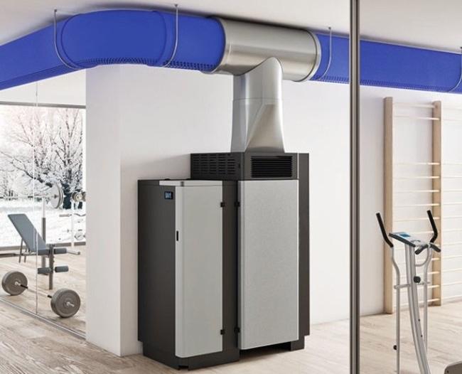 generatori di aria calda | Warm Impianti