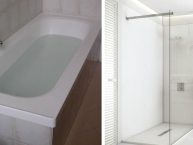 sostituzione vasca doccia